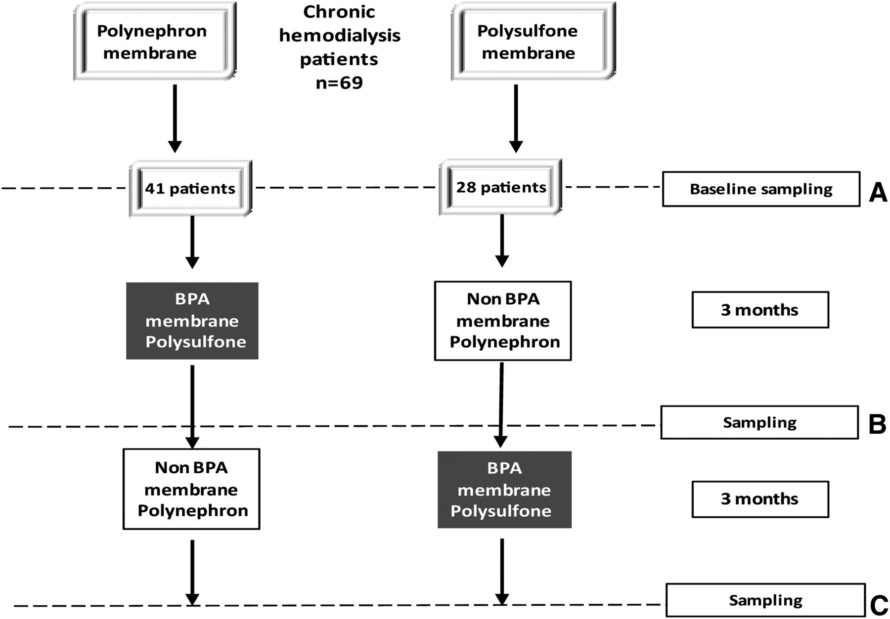 The Choice of Hemodialysis Membrane Affects Bisphenol A