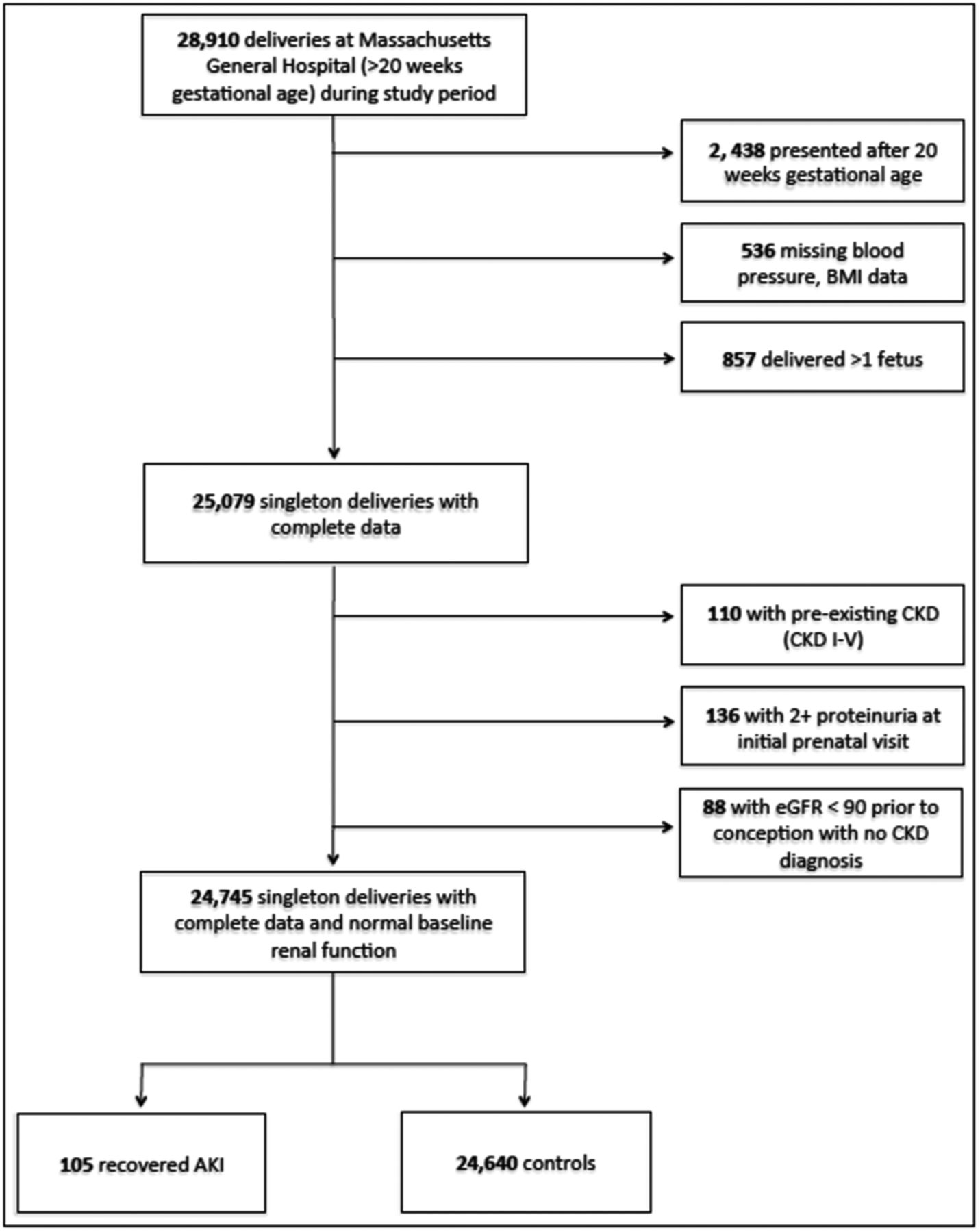 Pregnancy Outcomes After Clinical Recovery From Aki American