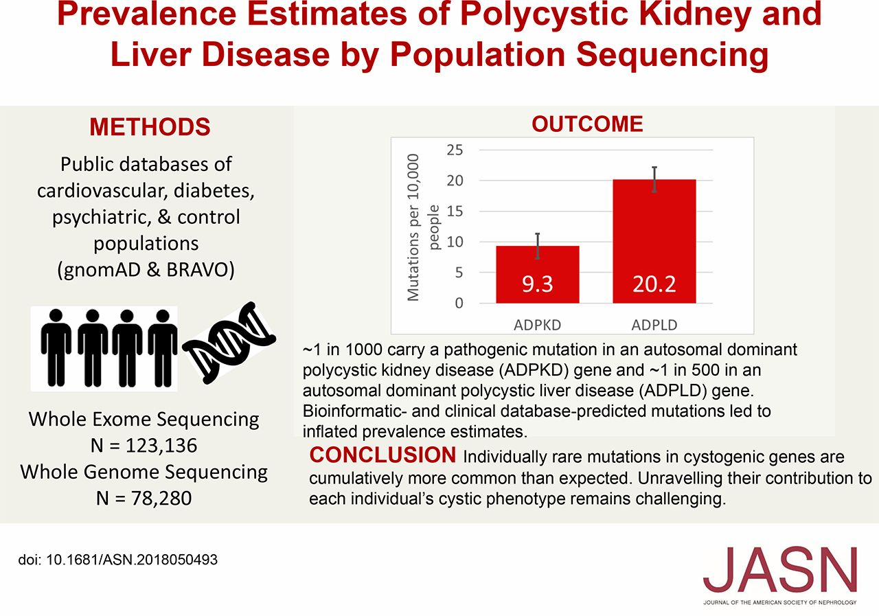 Prevalence Estimates Of Polycystic Kidney And Liver