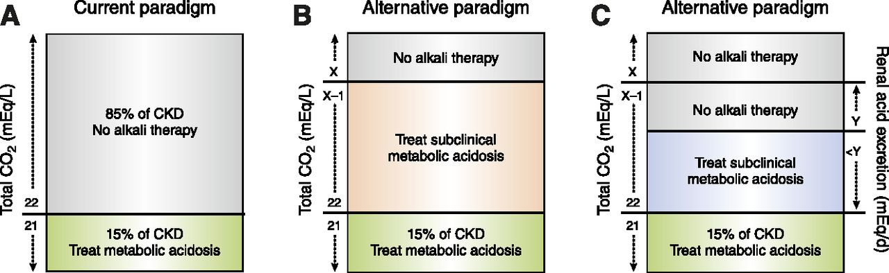Metabolic Acidosis And Subclinical Metabolic Acidosis In Ckd American Society Of Nephrology