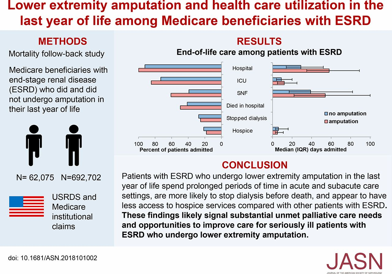 Lower Extremity Amputation and Health Care Utilization in