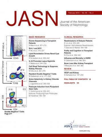 Journal of the American Society of Nephrology: 30 (2)
