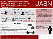 Assessment of the Utility of Kidney Histology as a Basis for Discarding Organs in the United States: A Comparison of International Transplant Practices and Outcomes