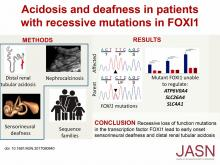 Acidosis and Deafness in Patients with Recessive Mutations in FOXI1