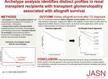 Archetype Analysis Identifies Distinct Profiles in Renal Transplant Recipients with Transplant Glomerulopathy Associated with Allograft Survival