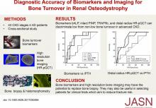 Diagnostic Accuracy of Biomarkers and Imaging for Bone Turnover in Renal Osteodystrophy