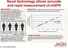 A Novel Method for Rapid Bedside Measurement of GFR