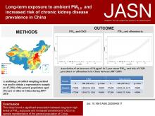 Long-Term Exposure to Ambient PM<sub>2.5</sub> and Increased Risk of CKD Prevalence in China