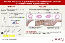 Reduced Expression of Glutathione S-Transferase <strong><em>α</em></strong>4 Promotes Vascular Neointimal Hyperplasia in CKD