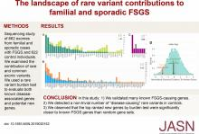 Contributions of Rare Gene Variants to Familial and Sporadic FSGS