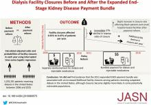 Bundled Payment Reform and Dialysis Facility Closures in ESKD