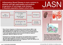 Inflammatory Bowel Disease Is More Common in Patients with IgA Nephropathy and Predicts Progression of ESKD: A Swedish Population-Based Cohort Study