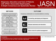 Diagnosis, Education, and Care of Patients with <em>APOL1</em>-Associated Nephropathy: A Delphi Consensus and Systematic Review