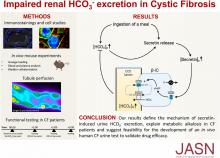 Impaired Renal HCO<sub>3</sub><sup>-</sup> Excretion in Cystic Fibrosis