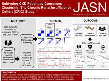 Subtyping CKD Patients by Consensus Clustering: The Chronic Renal Insufficiency Cohort (CRIC) Study
