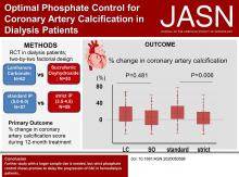 Optimal Phosphate Control Related to Coronary Artery Calcification in Dialysis Patients