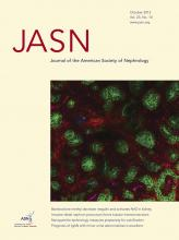 Journal of the American Society of Nephrology: 23 (10)