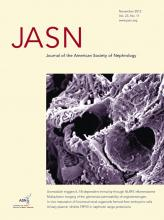 Journal of the American Society of Nephrology: 23 (11)