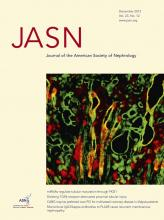 Journal of the American Society of Nephrology: 23 (12)