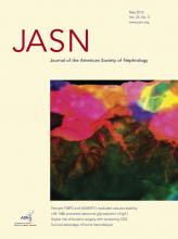Journal of the American Society of Nephrology: 23 (5)