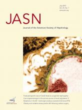 Journal of the American Society of Nephrology: 23 (7)
