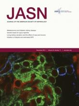 Journal of the American Society of Nephrology: 24 (11)
