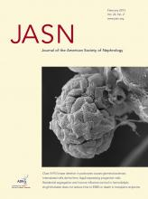 Journal of the American Society of Nephrology: 24 (2)
