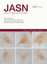 Journal of the American Society of Nephrology: 25 (1)