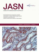 Journal of the American Society of Nephrology: 25 (10)