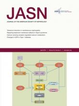 Journal of the American Society of Nephrology: 25 (4)