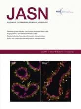 Journal of the American Society of Nephrology: 25 (6)
