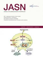 Journal of the American Society of Nephrology: 25 (8)