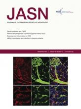 Journal of the American Society of Nephrology: 25 (9)