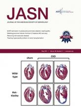 Journal of the American Society of Nephrology: 26 (5)