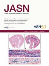Journal of the American Society of Nephrology: 27 (3)