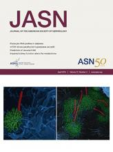 Journal of the American Society of Nephrology: 27 (4)