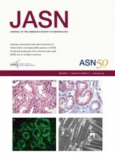 Journal of the American Society of Nephrology: 27 (5)