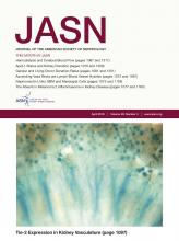 Journal of the American Society of Nephrology: 29 (4)