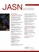 Journal of the American Society of Nephrology: 29 (7)