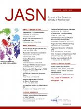 Journal of the American Society of Nephrology: 29 (8)