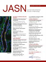 Journal of the American Society of Nephrology: 30 (6)