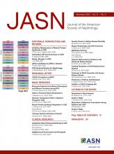 Journal of the American Society of Nephrology: 31 (11)