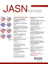 Journal of the American Society of Nephrology: 31 (4)