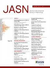 Journal of the American Society of Nephrology: 31 (7)