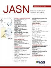 Journal of the American Society of Nephrology: 31 (8)