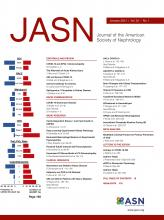 Journal of the American Society of Nephrology: 32 (1)