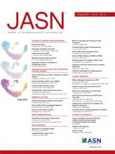 Journal of the American Society of Nephrology: 32 (10)