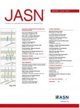 Journal of the American Society of Nephrology: 32 (6)