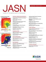 Journal of the American Society of Nephrology: 32 (8)
